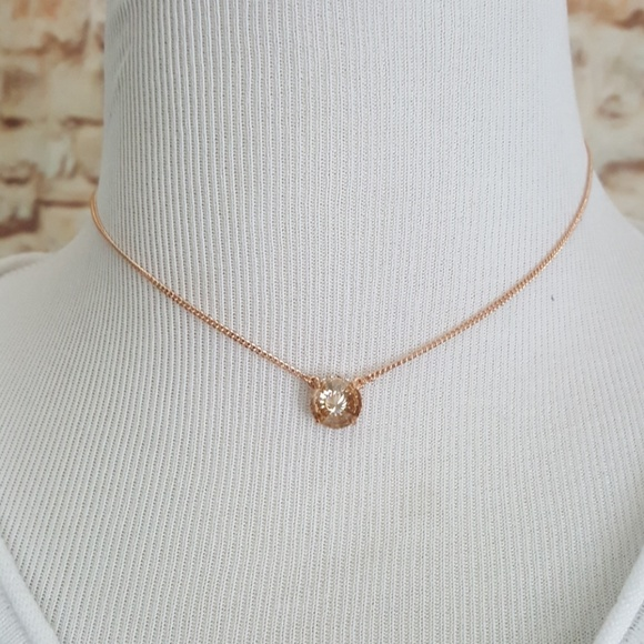 be324f66f Vince Camuto Jewelry | New Rose Gold Tone Necklace | Poshmark